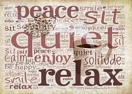 Finally a bit of peace…Maybe?